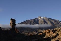 del teide Pico Obrazy Royalty Free