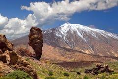 del teide Pico Tenerife Zdjęcie Stock