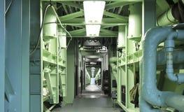 Del titán del misil del museo un cablecarril subterráneo de largo fotografía de archivo libre de regalías