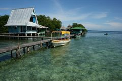 Del Toro, islas de Bocas en Panamá Fotografía de archivo libre de regalías