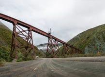 Del Toro Del Toro Viaduct Tren de las Nubes Railway di Viaducto - del Toro, Salta, Argentina di Quebrada fotografia stock libera da diritti