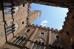 del torre Mangia Obrazy Royalty Free