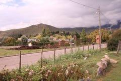 Del Valle, Tucuman, Argentine de Tafi Image stock