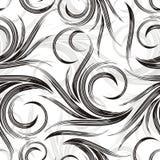 Del vector fondo swirly Imagenes de archivo