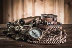 Del vintage todavía del infante de marina vida Imagen de archivo libre de regalías