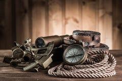 Del vintage todavía del infante de marina vida Foto de archivo libre de regalías