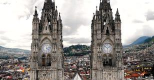 Del Voto Nacional da basílica, Quito, Equador foto de stock royalty free
