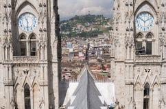 Del Voto Nacional di BasÃlica a Quito Fotografie Stock Libere da Diritti