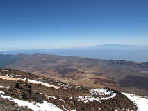 Del vulcano de Teide imagen de archivo
