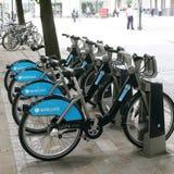 dela för cykellondon s plan Royaltyfri Bild