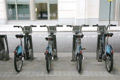 dela för cykellondon s plan Arkivfoton