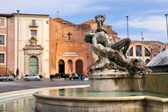 Dela Repubblica, Roma della piazza Immagine Stock Libera da Diritti