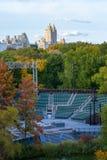 Delacorte thatre στο Central Park Στοκ Εικόνες