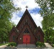 Delafield kościół zdjęcie royalty free