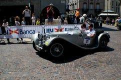 Delage D6-70 przy Mille Miglia 2016 Obraz Royalty Free