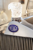 1938 Delage Francia brand outside car Royalty Free Stock Photography