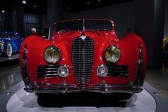 1949年Delahaye类型175 Drophead小轿车 库存图片