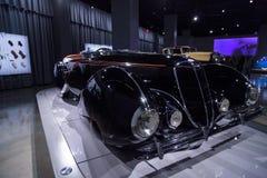 1938年Delahaye类型135M竞争跑车 免版税库存图片