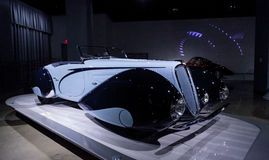 1938年Delahaye类型135M竞争跑车 库存照片