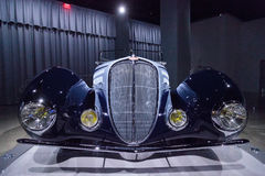 Delahaye-Art 1938 135M Competition Roadster Lizenzfreie Stockbilder