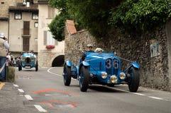 Delahaye GP at Bergamo Historic Grand Prix 2015 Royalty Free Stock Photo