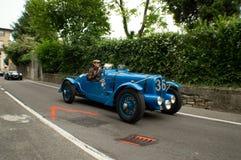 Delahaye GP at Bergamo Historic Grand Prix 2015 Stock Photo