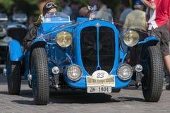 Delahaye 135 M Le平的Mans_front 图库摄影