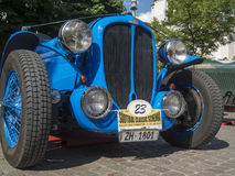 Delahaye 135 M Le Mans_front 免版税图库摄影