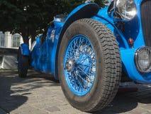 Delahaye 135 M Le Mans _Tyre Stock Afbeeldingen