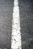 Delande linje Arkivfoto