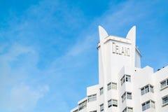Delano supérieur en plage du sud de Miami, la Floride Photographie stock libre de droits