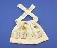 Delantal de la muñeca de la vendimia Imagen de archivo