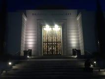 Delante del observatorio Fotografía de archivo libre de regalías