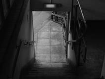 Delapidated klatka schodowa dla Jawnego dostępu fotografia royalty free