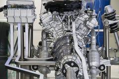 Delar av bilmotorn Arkivbild
