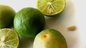 Delar av citroner Arkivbild