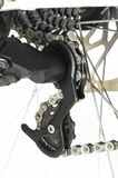 Delar för cykelbaksidakugghjul och hjuleker royaltyfri bild