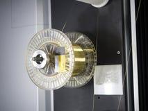 Delar för form för klipp för maskin för CNC-trådsnitt royaltyfri bild