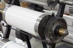 Delar för printingmaskin Arkivfoton