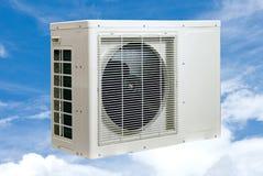 delat system för luftkonditioneringsapparatillustration Arkivbild