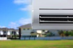 delat system för luftkonditioneringsapparatillustration Fotografering för Bildbyråer