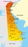 Delaware Stock Afbeelding