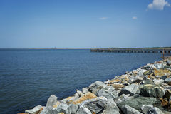 Delaware Bay Coast Royalty Free Stock Photography