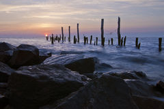 Delaware Bay Sunrise Royalty Free Stock Photography