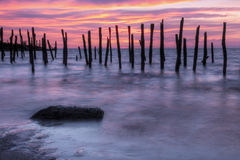 Delaware Bay Sunrise Stock Photo