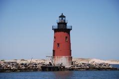 Delaware falochronu latarnia morska Lewes Beach3 Zdjęcie Stock