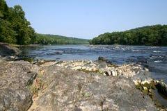 Delaware-Fluss â wilder u. szenischer Fluss Stockbild
