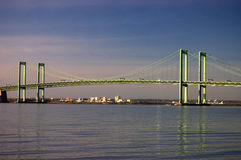 Delaware Memorial Bridge Royalty Free Stock Image