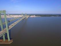 Delaware Memorial Bridge Royalty Free Stock Images