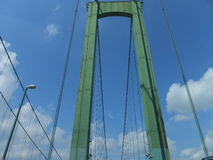 Delaware Memorial Bridge Stock Image